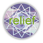 Relief Silver Hologram