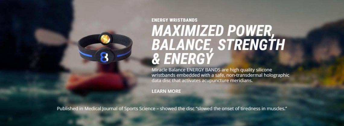 energy wristbands